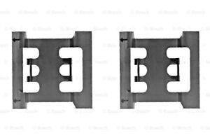 BOSCH Disc Brake Pads Accessory Kit SET Fits VOLVO 740 760 940 960 1981-1998