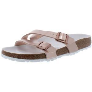 Birkenstock Womens Yao Pink Footbed Sandals Shoes 9 Medium (B,M) BHFO 4777