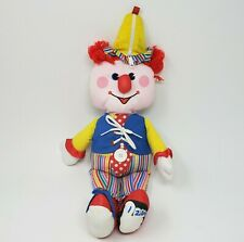 VINTAGE 1984 FISHER PRICE # 178 DRESS ME CLOWN STUFFED ANIMAL PLUSH TOY DOLL