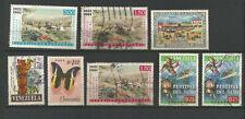 Venezuela années 60 poste aérienne 7 timbres oblitérés /TR211