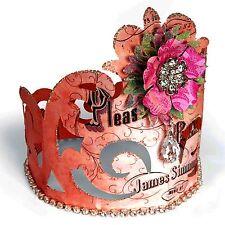 Sizzix Cartouche Crown Bigz L die #658347 Retail $29.99 Cuts Fabric!!!