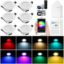 1-20X RGBWC WIFI/Bluetooth Smart Spotlight LED Ceiling Lamp Down Light for Alexa