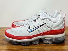 Nike Air Vapormax 360 Informal Zapatos vasto Gris Blanco Rojo CK2718-002 para hombre Talla 10