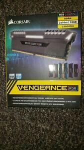 Corsair Vengeance RGB DDR 4 Ram 32GB 3200MHz