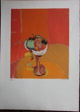 Alfred DEFOSSEZ - Lithographie signée numérotée le compotier **