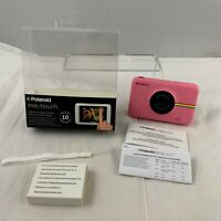 Polaroid Snap Touch Instant Print Camera Pink Zink Papers Printing Touch Screen