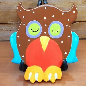 Coton Colors Happy Everything Large Attachment Horned Owl Spotted Brown Rare