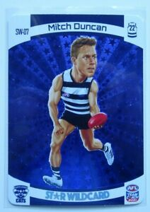 2021 Football Card Star Wildcard  Mitch Duncan Geelong Cats