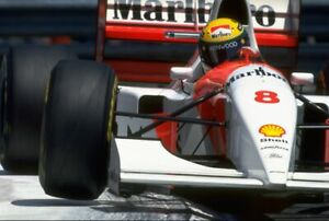 AYRTON SENNA Poster Formula One 1 F1 Racing Poster 24 in by 36 in M