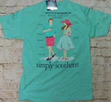 "NWT Simply Southern ""Date Attire Must Haves"" Women's Sz. Medium T-Shirt"