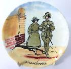 Royal Doulton hand painted WWI Pin tray - Australian Light Horse