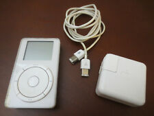 iPod 1st Generation Classic M8541 - 5GB - 2001 - White, works but needs battery
