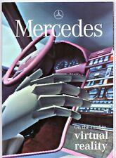 Mercedes-Benz Magazine Spring 1995 UK Market Brochure C-Class Vario