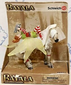 New Schleich Bayala Marween Elves Fairy Horse 2 Piece Set Figure 70427 Germany
