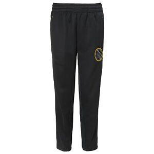 Outerstuff Golden State Warriors NBA Boys Kids (4-7) Defender Pants, Black