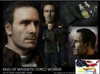 1/6 Young Magneto Figure King Of Magnetic Force Worker Fassbender  MF12 ❶USA❶