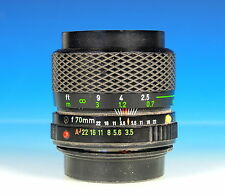 Profils zoom 35-70mm/3.5-4.5 macro pour pentax K Objectif Lens objectif - 91089