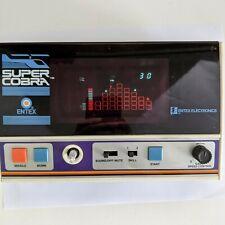 Super Cobra Electronic Game by Entex. 1982 Vintage Handheld Game. Tested, works.