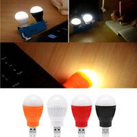 DC 5V 5W Portable LED Bulb USB Night Light Reading Lamp White Light USB Office