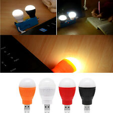 DC 5V 5W Portable LED Bulb USB Night Light Reading Lamp White Light USB Office
