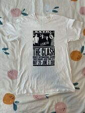 The Clash T-Shirt 1981 NYC Times Square - Beige M Classic Rock Punk