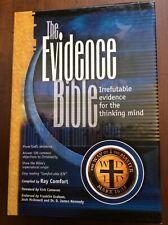 Evidence Bible-OE-KJV Comfortable Version (1st Edition)Burgundy leather NEW
