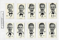 Full set J Sinclair: WELL KNOWN FOOTBALLERS ( North East Counties ) EX cond