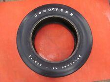 Goodyear Polyglas GT E60-15 Tire Hemi Cuda Original #3  SHOW SPARE 68 69 1968