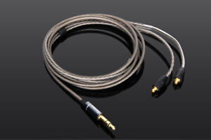 Silver Plated Audio Cable For Westone AM Pro 10 20 30 UM Pro 10 20 30 50 Earphon