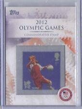Handball Commemorative Stamp 2012 Topps U.S. Olympic Team & Hopefuls #CS-30