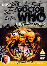 More details for doctor who - the five doctors dvd -signed by 16 cast & crew (incl. tom baker)