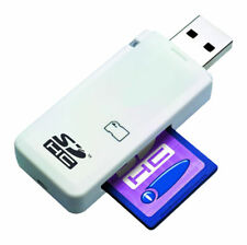 LUPO SD SDHC Memory Card Reader - USB 2.0 Single Slot - Supports Windows and Mac Computers