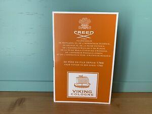 2021 Creed Viking Cologne 1760 Fournisseur Parfum 2 mL 0.06 Oz Mens Sample Spray