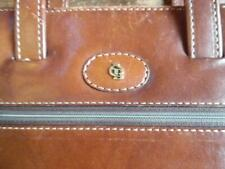 Gorgeous Vintage  Castelijn & Beerens  Leather Briefcase/Laptop bag