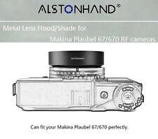 ALSTONHAND metal lens hood/shade for Makina Plaubel 67/670 camera 58mm