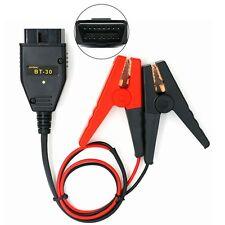 AUTOOL BT-30 OBDII Car ECU Memory Saver Emergency Power Supply Battery Clip 12V