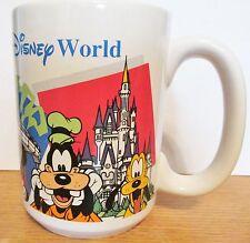 WALT DISNEY WORLD GRANDMA COFFEE CUP  MICKEY & MINNIE DONALD & DAISY PLUTO GOOFY