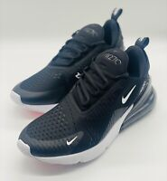 NEW Nike Air Max 270 Sneakers Black Anthracite White AH8050-002 Size 7 NO LID