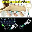 Schröpfen Set Vakuum Massage mit Pumpe 12 Schröpfgläser vacuum cupping