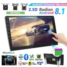 MP5 Android 8.1 Car Stereo Player GPS Navi WiFi Bluetooth FM Radio 10.1'' 2 DIN