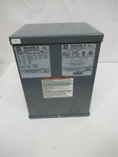 Square D 2S67F, Rainproof Transformer Type 3R Enclosure, KVA 2, 1 Phase, PULLED