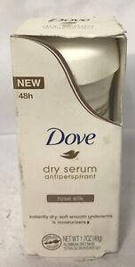 Dove Womens Dry Serum Antiperspirant/Deodorant, Rose Silk, 1.7 Ounce