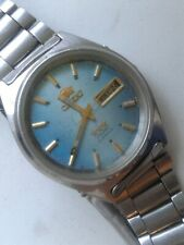 jewels Automatic Watch Vintage Orient Crystal 3 stars 21