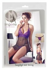 Chemise con pizzo viola Tg S/M Mandy Mystery Sexy Shop intimo donna sex 2751054