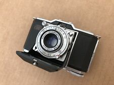 Zeiss Ikon Ikonta 35 (522/24) Film Camera - 45mm f/3.5 Lens - SERVICED - WORKS