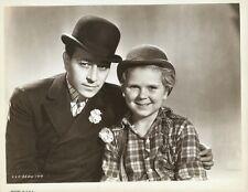 "JACKIE COOPER & GEORGE RAFT in ""THE BOWERY"" Original Vintage Photograph 1933"