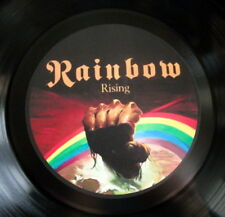 RAINBOW RISING HEAVY METAL  VINYL LP RETRO BOWL HIGH  QUALITY ;OTHERS LISTED