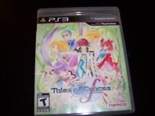 Replacement Case (NO GAME ) TALES OF GRACES F PLAYSTATION 3 PS3