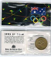 1992 Barcelona RAM $1 UNC