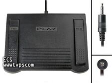 IN-210 IN210 Heavy Duty Transcription Foot Pedal for Philips / Norelco